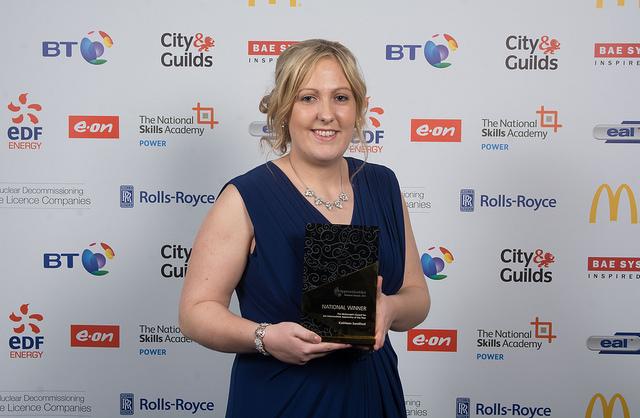 Kathleen Sandford National Apprenticeship Winner