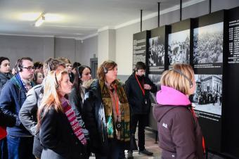 Students take part in Auschwitz project