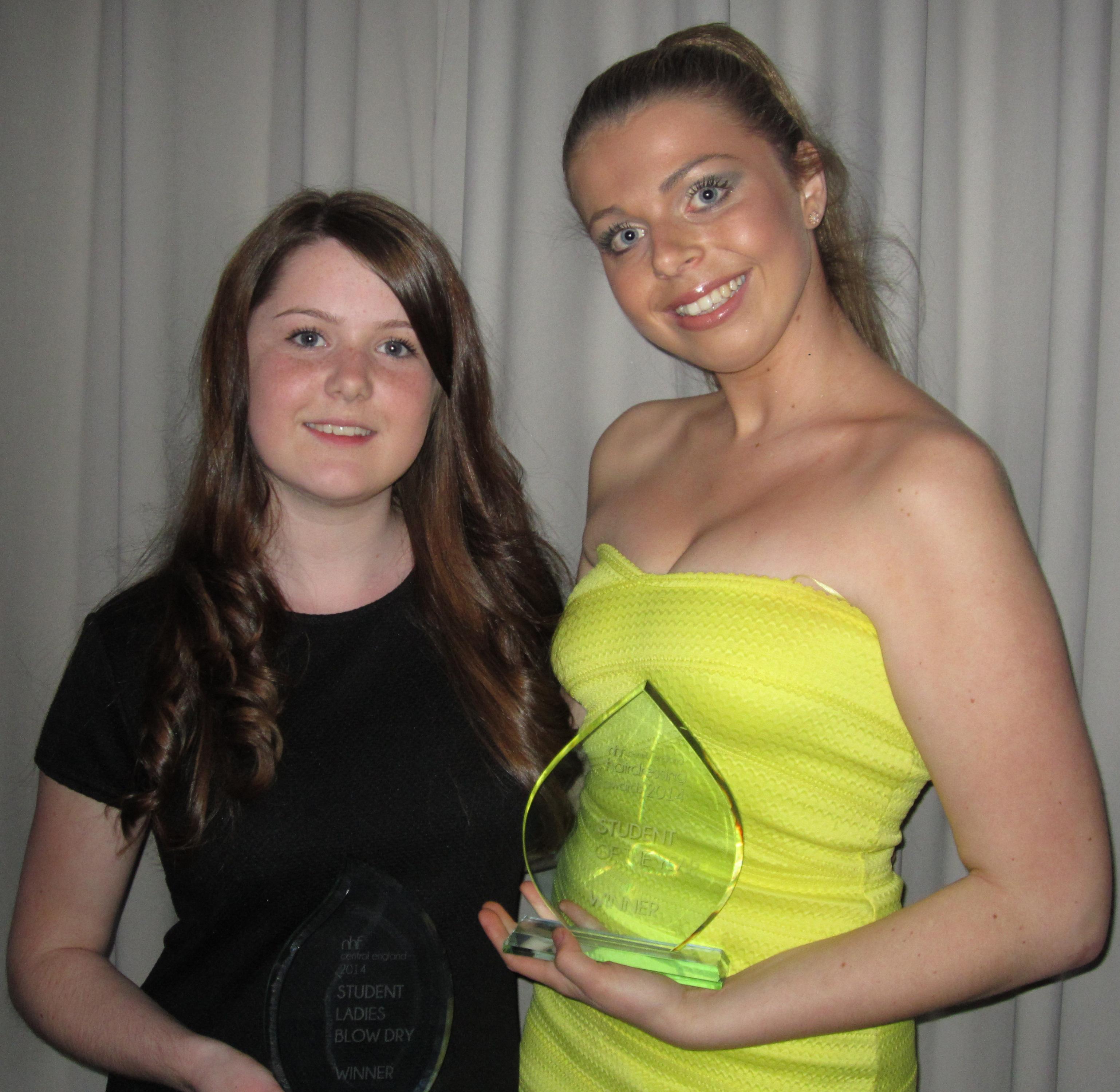 Elisha Broome and Jessica Langridge