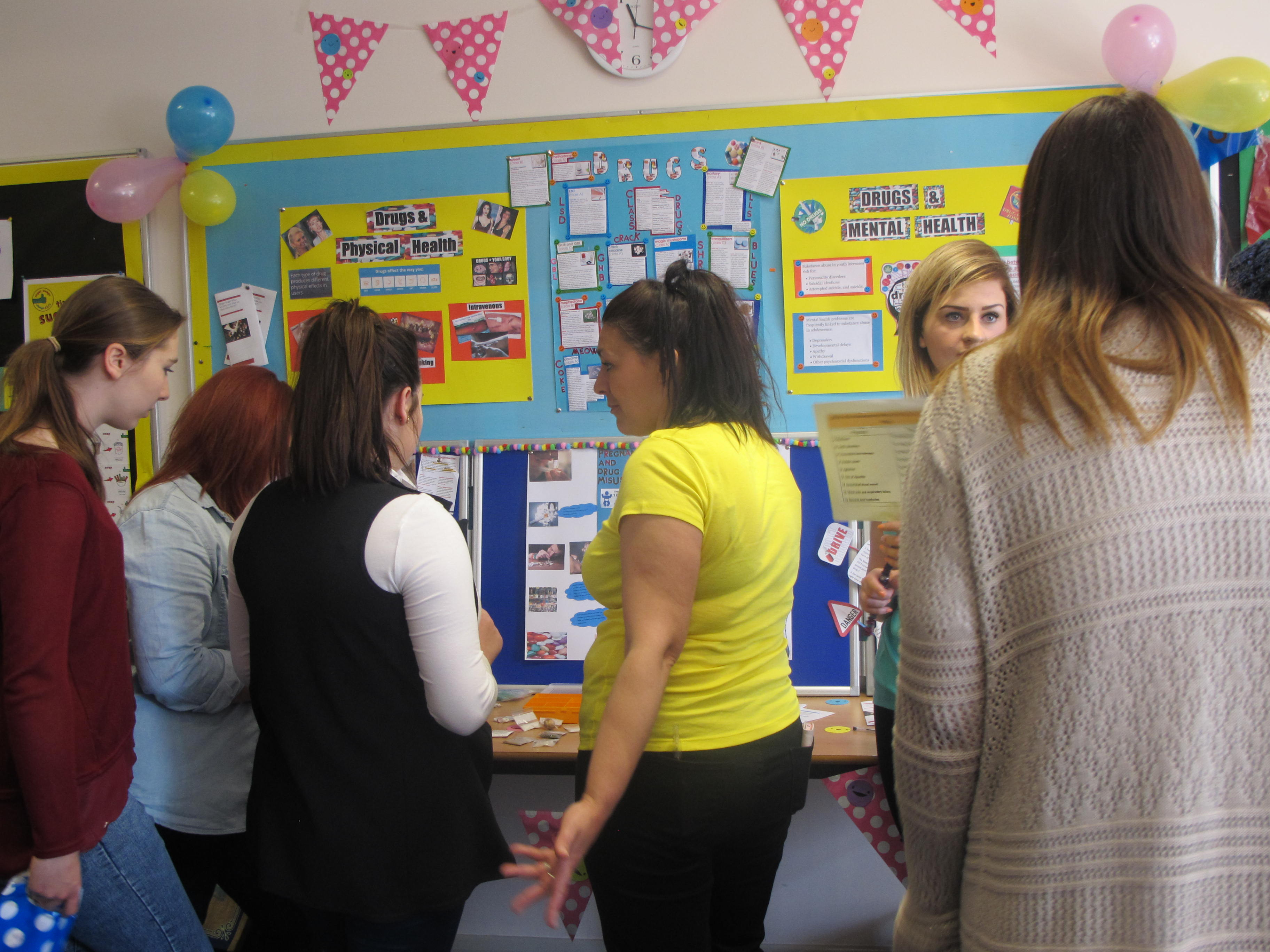 Access to HE Health Awareness Exhibition