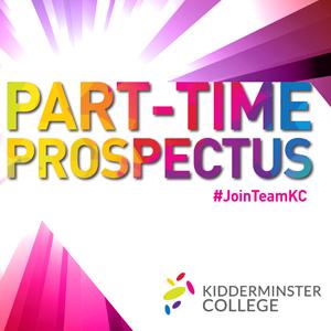 Part-time prospectus