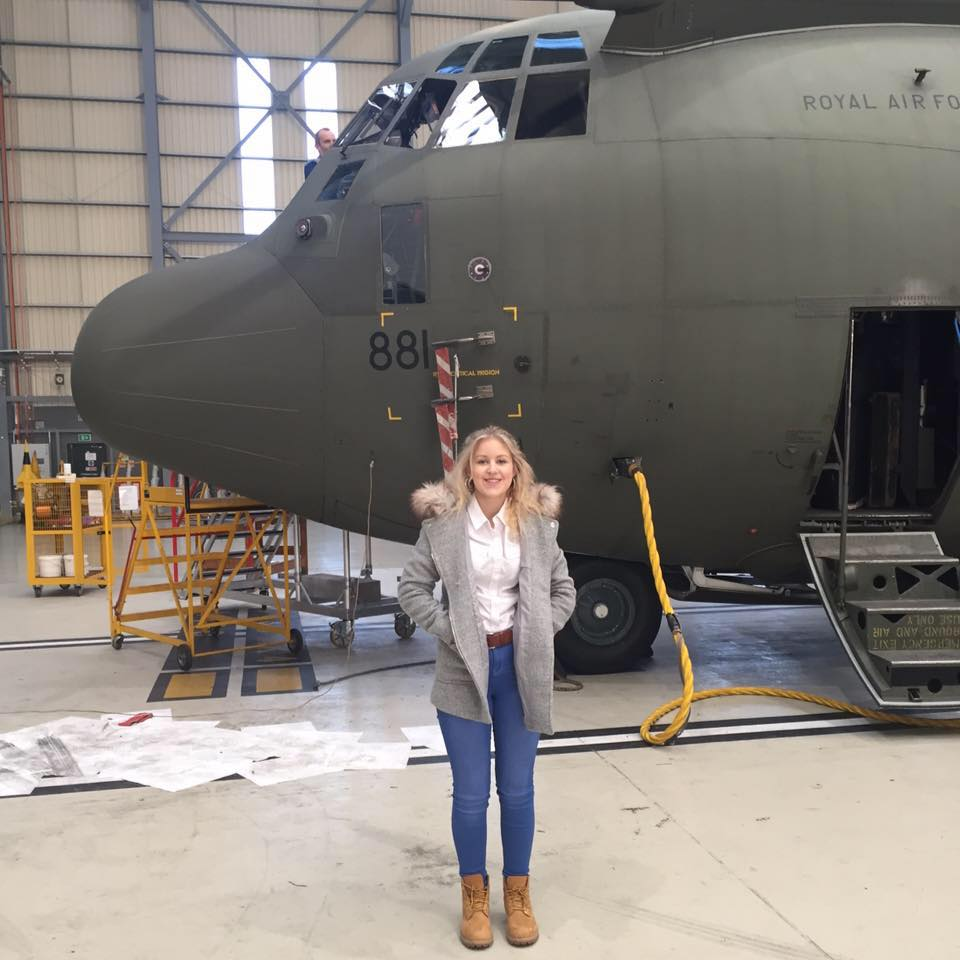 Hannah Smith moves on to the RAF