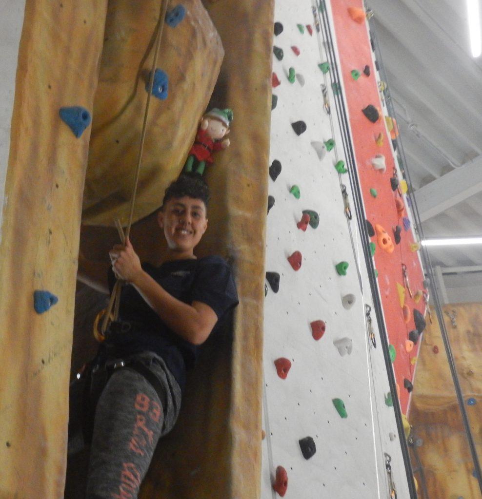Naughty-Elf-Climbing-Wall