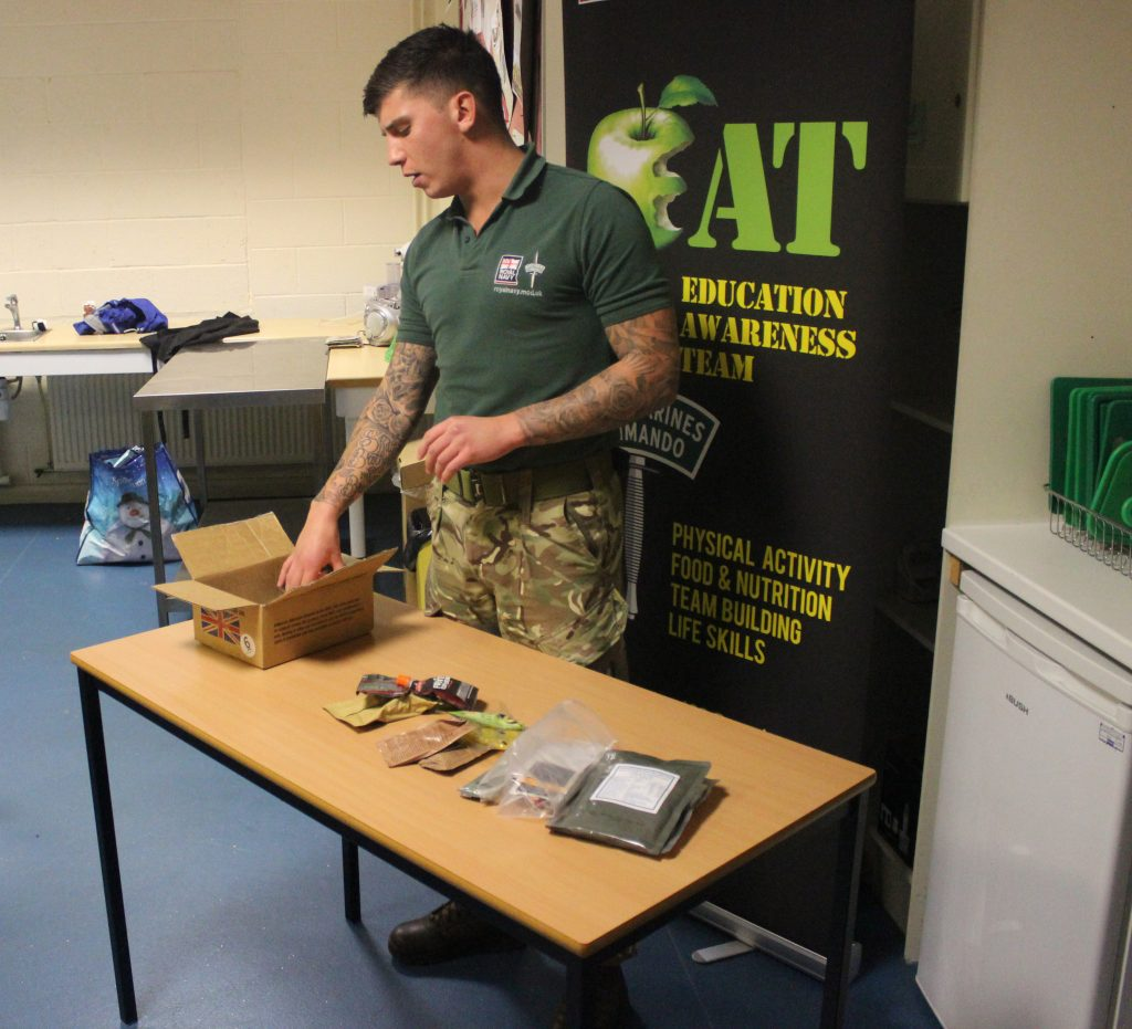 commando-chef-kidderminster-college